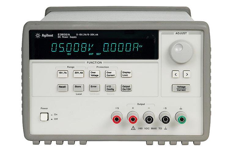 Источник питания Agilent Technologies E3633A (0-8V, 20A; 0-20V, 10A 160/200W. GPI)