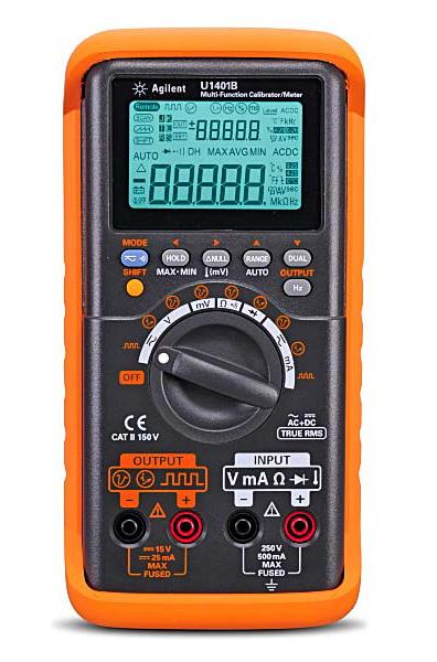 U1401B - Ручной калибратор-мультиметр U1401B