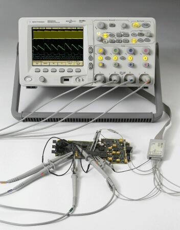 DSO6034A - Цифровой запоминающий осциллограф Agilent Technologies (300 МГц, 2выб/с, 4-канальный)