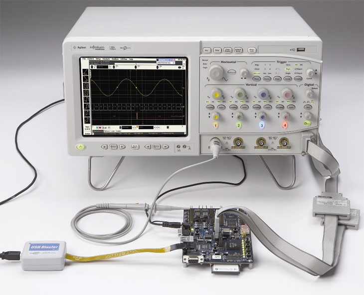 Осциллограф Agilent Technologies DSO8064A (600 MHz, 2/4 GSa/s, 4-канальный)