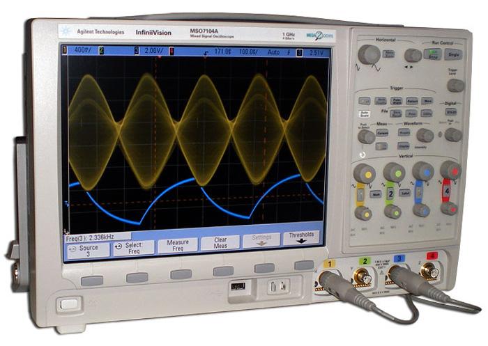 Осциллограф Agilent Technologies MSO7052A (500MHz, 2+16 канальный)