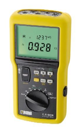 CA 6456 Измеритель сопротивления петли