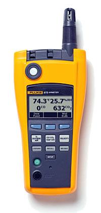 Fluke 975V - Тестер качества воздуха с функцией измерения скорости потока воздуха