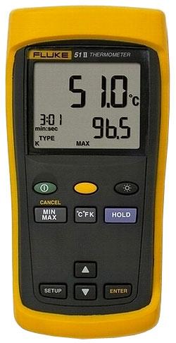 Fluke 51-II Измеритель температуры