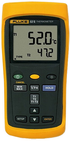 Fluke 52-II Измеритель температуры
