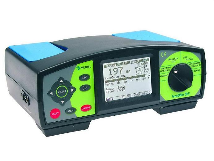 Измеритель сопротивления изоляции напряжением до 5000 В Metrel MI 2077
