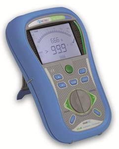 Измеритель сопротивления изоляции и целостности электрических цепей Metrel MI 3121H 2,5кВ