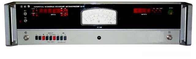 Измеритель нелинейных искажений С6-11
