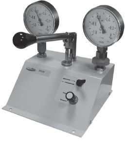 Пневматическая установка для сравнительной калибровки ПУСК